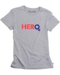 Saucony X Prinkshop Hero T-shirt - Gray