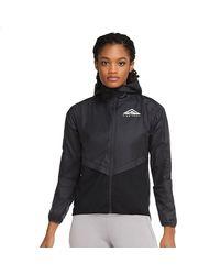 Nike Shield Trail Running Jacket - Black