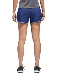 """On - Adidas M10 Ic Woven 4"""" Shorts - Lyst"""