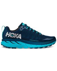 Hoka One One Challenger Atr 4 Trail Running Shoe Availability: In Stock $129.95 - Blue