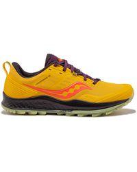Saucony Jackalope 2.0 Peregrine 10 Trail Running Shoe - Multicolor