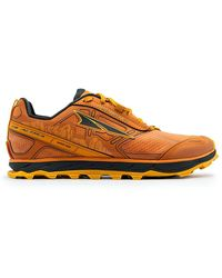 Altra Lone Peak 4 Low Rsm Trail Running Shoe - Orange