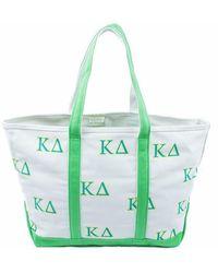 Jack Rogers Kappa Delta Tote Bag - Green