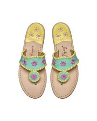 Jack Rogers - Collector Edition Keys Sandals - Lyst