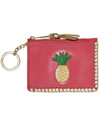 Jack Rogers Pineapple Coin Purse - Pink