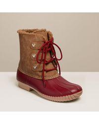Jack Rogers Hazel Duck Boot - Red