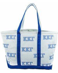 Jack Rogers Kappa Kappa Gamma Tote Bag - Blue