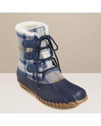 Jack Rogers Hayley Duck Boot - Blue