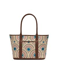 Jack Rogers - Cameron Embroidered Medium Tote - Lyst