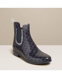 Jack Rogers Sallie Rainboot Sparkle - Blue