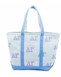 Jack Rogers Delta Gamma Tote Bag - Blue