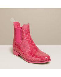 Jack Rogers Sallie Rainboot Sparkle - Pink