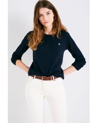Jack Wills - Tinsbury Cable Sweater - Lyst