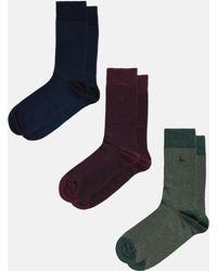Jack Wills - Herringbone 3 Pack Socks - Lyst