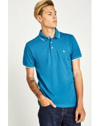 Jack Wills - Edgware Tipped Polo - Lyst