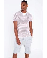 Jack Wills - Clevedon Pique Stripe T-shirt - Lyst