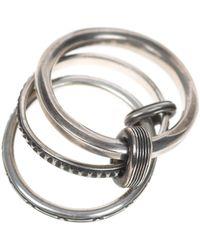 Werkstatt:münchen Connected Trace Silver - Mettallic