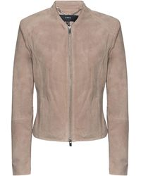 Arma Stevie Goat Suede Taupe - Braun