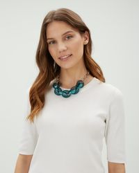 Jaeger - Jenna Links Short Necklace - Lyst
