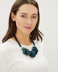 Jaeger - Erica Geo Shapes Necklace - Lyst