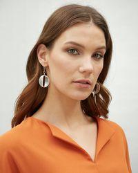 Jaeger - Courtney Ovals Earring - Lyst