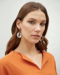 Jaeger - Courtney Ovals Earring - Lyst