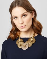 Jaeger - Divina Disc Statement Necklace - Lyst