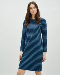Jaeger - Breton Dress - Lyst