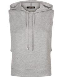 Jaeger - Hooded Sweatshirt - Lyst