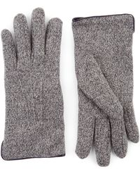 Jaeger | Mouline Knitted Gloves | Lyst
