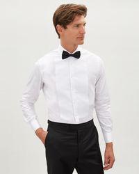 Jaeger - Cotton Evening Marcella Regular Bib Shirt - Lyst