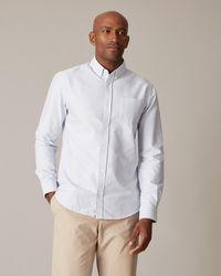 Jaeger Oxford Stripe Shirt - Blue
