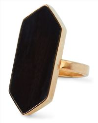 Jaeger - Soko Trapezoid Horn Ring - Lyst