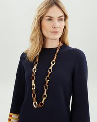 Jaeger - Long Assorted Link Resin Necklace - Lyst