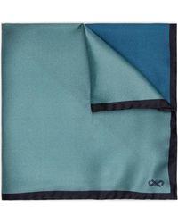 Jaeger - Contrast Colour Block Pocket Square - Lyst