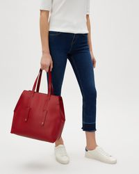Jaeger - Agnes Angled Large Tote - Lyst