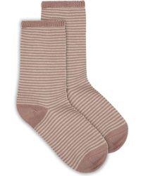 Jaeger - Stripe Cashmere Sock - Lyst