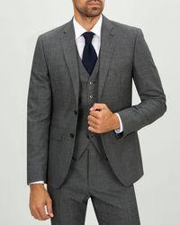 Jaeger - Slim Textured Suit Jacket - Lyst