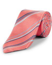 Jaeger - Woven Stripe Tie - Lyst