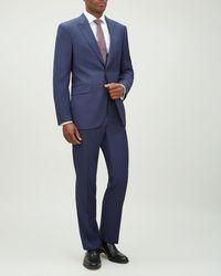 Jaeger - Regular Fine Rib Weave Suit - Lyst