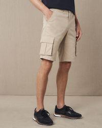 Jaeger Regular Cargo Shorts - Natural