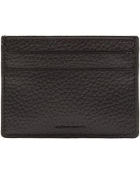 Jaeger Leather Card Holder - Black
