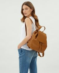 Jaeger - Martha Leather Backpack - Lyst