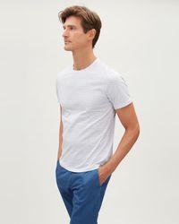 Jaeger - Geo Print Cotton T-shirt - Lyst