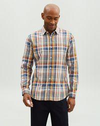 Jaeger Madras Check Shirt - Multicolour