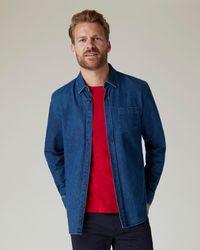 Jaeger Denim Shirt - Blue