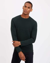 Jaeger | Mock Rib With Milano Sleeve | Lyst