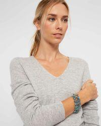 Jaeger - Jo Blue Metal Long Bracelet - Lyst