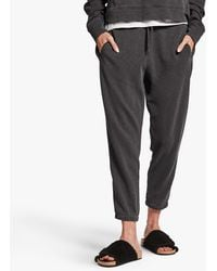 James Perse Vintage Fleece Relaxed Sweatpant - Grey