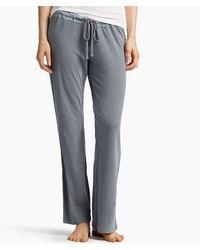 James Perse Knit Jersey Pajama Pant - Gray